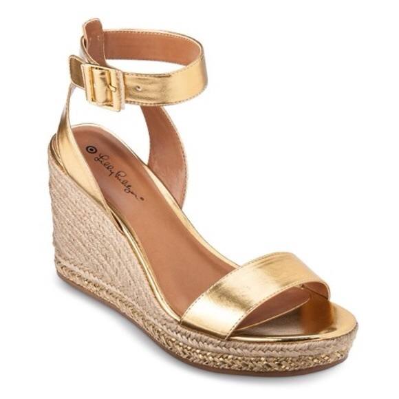 7aee1f751fc Lilly Pulitzer for Target Espadrille Wedge Sandals